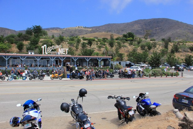 Motorcycles at Neptune's Net