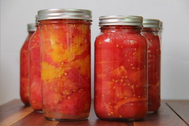 Preserving Tomatoes at Home