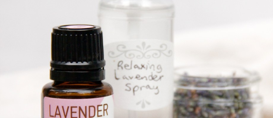 DIY Relaxing Lavender Spray