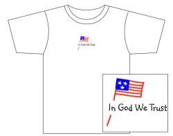 Men's In God We Trust Short Sleeve Tee