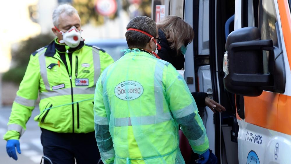 Coronavirus emergency in northern Italy