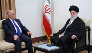 """""""تعارض إيران فكرة تغيير العبادي، وهو ما يبدو كتفاهم ضمني أميركي - إيراني جديد حول العراق"""