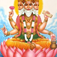 Brahma Creates the Universe