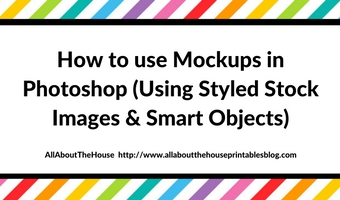 How to use Mockups in Photoshop (Using Styled Stock Images & Smart Objects)