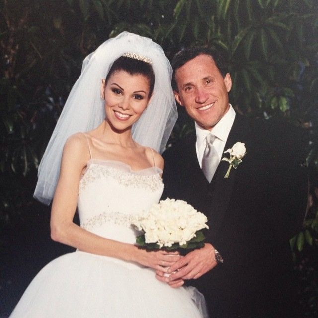 terry and heather dubrow renewed their wedding vows so