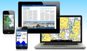 Navionics' line of apps are designed for smart devices such as tablets and smart-phonesalong with your laptop.