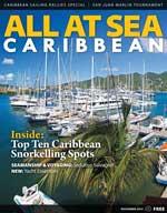 All At Sea - The Caribbean's Waterfront Magazine - November 2014