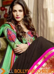 Collection-Of-Sunny-Leone-Green-Black-Anarkali-Suit-With-Full-Sleeve1