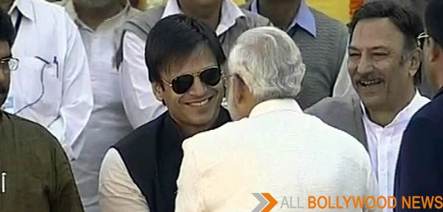 Vivek Oberoi meets PM Narendra Modi in Germany