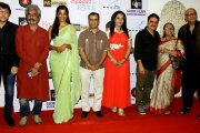 Vinay Pathak,Mugdha Godse came to launch their audio of film kaagaz
