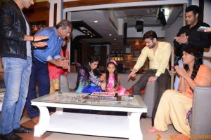Ruhaanika Dhawan brings in her real birthday with Ishima (8)