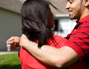 Home: Couple Happy to Have New Home