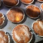 apple custard teacake