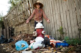 Meet the trash heap in the alleyway behind Pittsburgher Meda Rago's house. Rago regularly volunteers with her neighborhood's clean-up crew, but it doesn't seem to make a dent in the litter problem. Photo: Lou Blouin