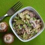 One-Pot-Pasta Primavera – mit Zucchini und Pilzen