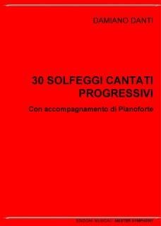 30 SOLFEGGI CANTO e PIANOFORTE