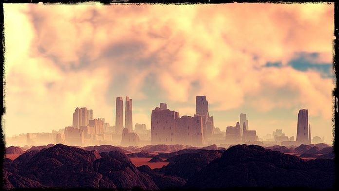 Desert City as an example of Writing craft, showing and telling, how to write, fiction, novel writing