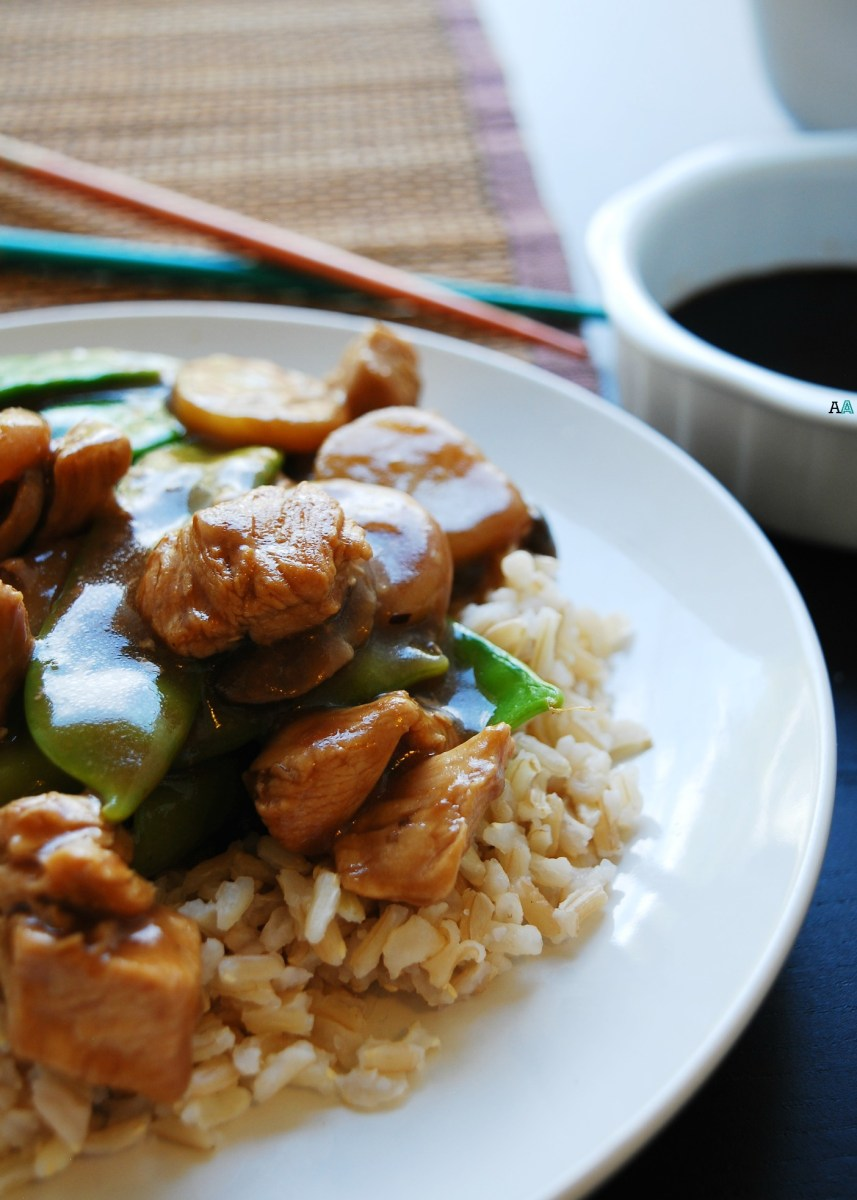 30 Minute Moo Goo Gai Pan (Gluten, dairy, egg, peanut and tree nut free)