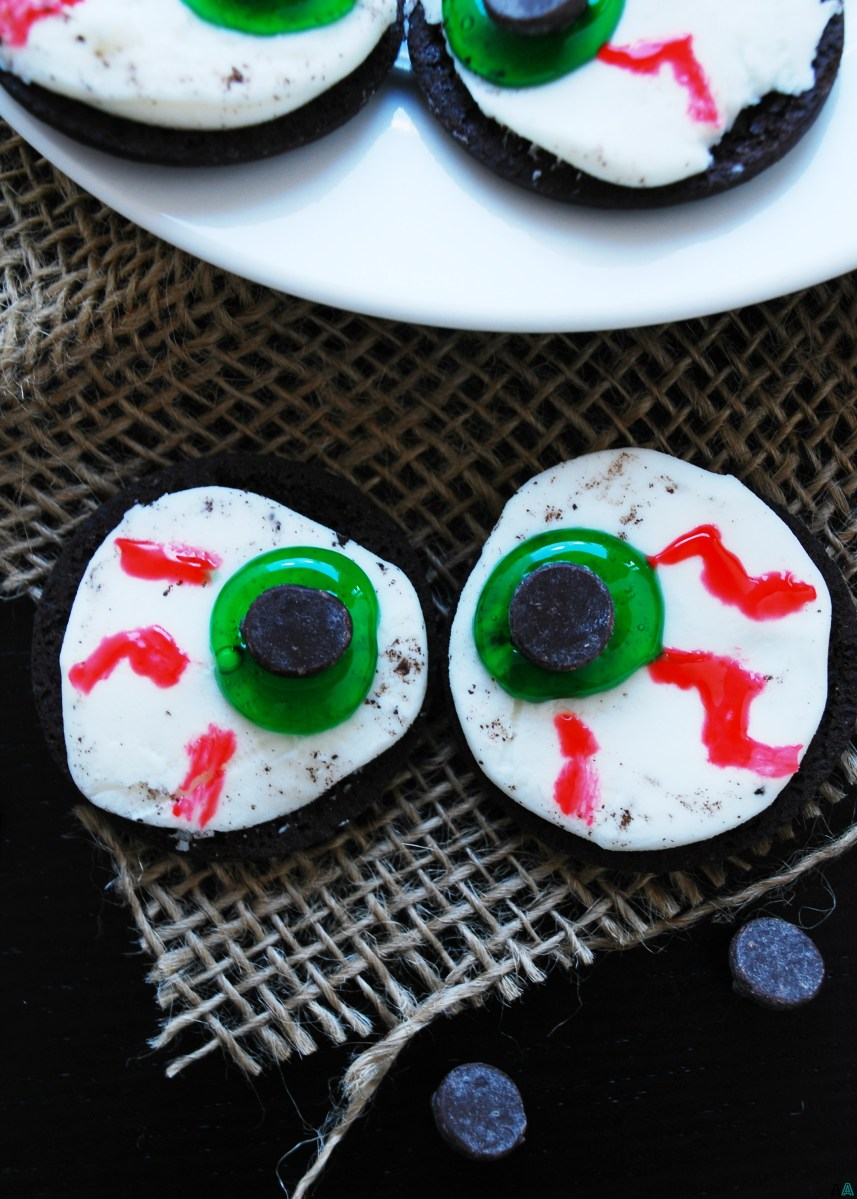 Allergy-friendly Monster Eye Balls (Gluten, dairy, egg, peanut & tree nut free; vegan)