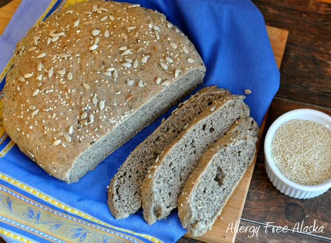 Paleo Country Seed Bread