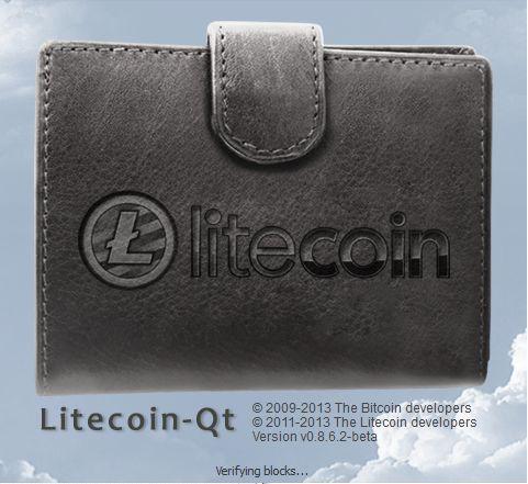 Litecoin Wallet Splash Screen
