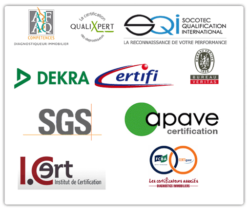 Certifications diagnostic immobilier