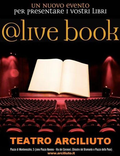 """Live book al teatroarciliuto """"il sogno delle tre"""