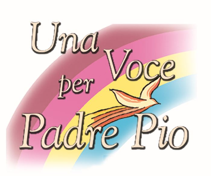 Una voce per Padre Pio_Logo