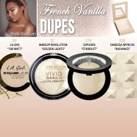 Kylie Cosmetics French Vanilla Kylighter Dupes