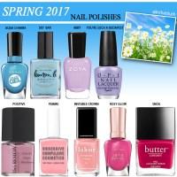 Spring 2017 Nail Polish Shades