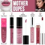 Kat Von D Mother Everlasting Liquid Lipstick Dupes