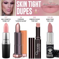 Jeffree Star Skin Tight Lip Ammunition Dupes [Summer 2017]