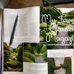 My Favorite Garden Magazine