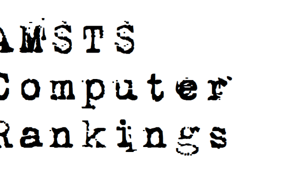 AMSTS Computer Rankings