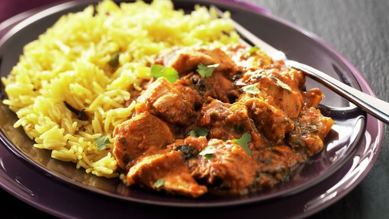 curry with coconut oil