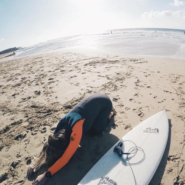 Ctait sur la plage de el cotillo  fuerteventura Deuximehellip
