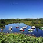 A river full of model boats in Newfoundland Continue readinghellip