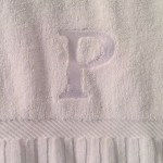 Personalized towels just for me? Perfectly plush at Hotel Palomar…
