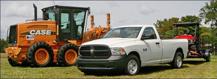 2016 Ram 1500 and Case CNH