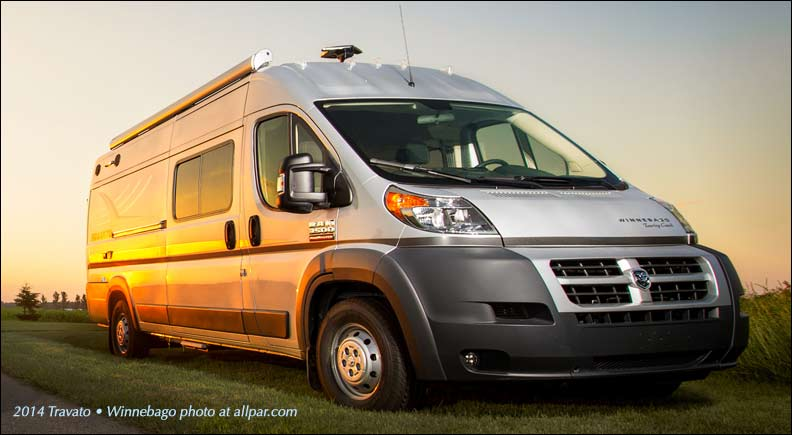 Ram ProMaster based Winnebago