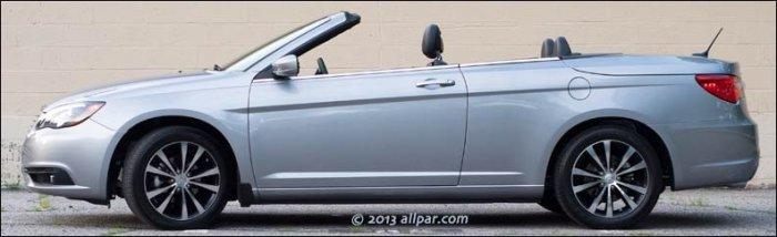 2013 Chrysler 200C convertible