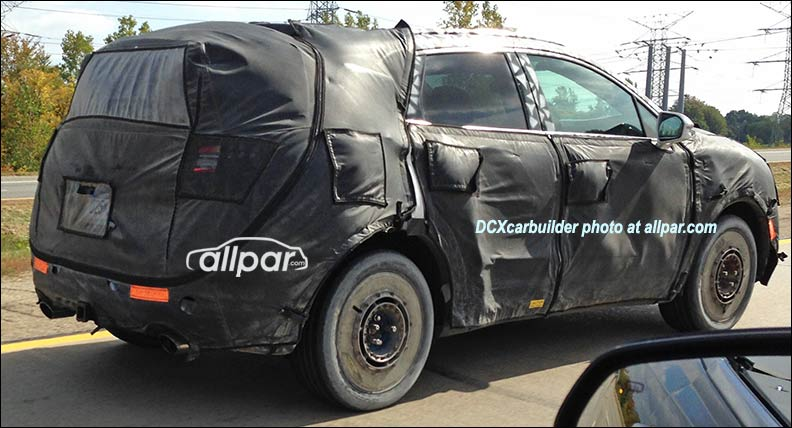 2015 Dodge Journey spy shot