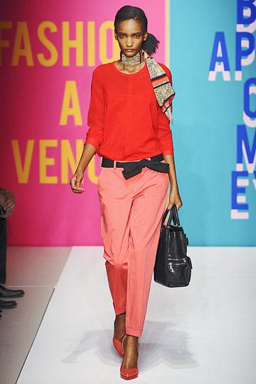 Rose Cordero for DKNY S/S 2011