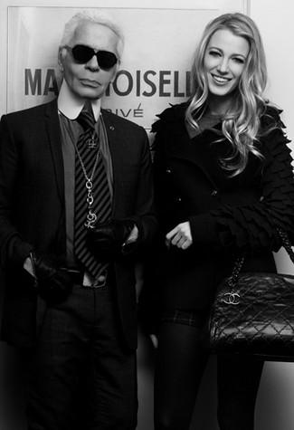 Karl Lagerfeld & Blake Lively