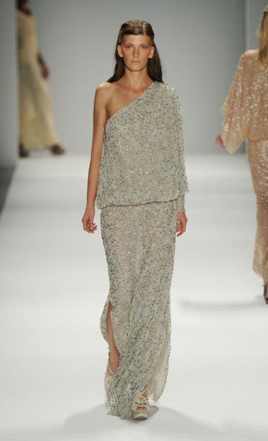 Tadashi Shoji S/S 2012 Photo Credit: Mercedes-Benz Fashion Week Website