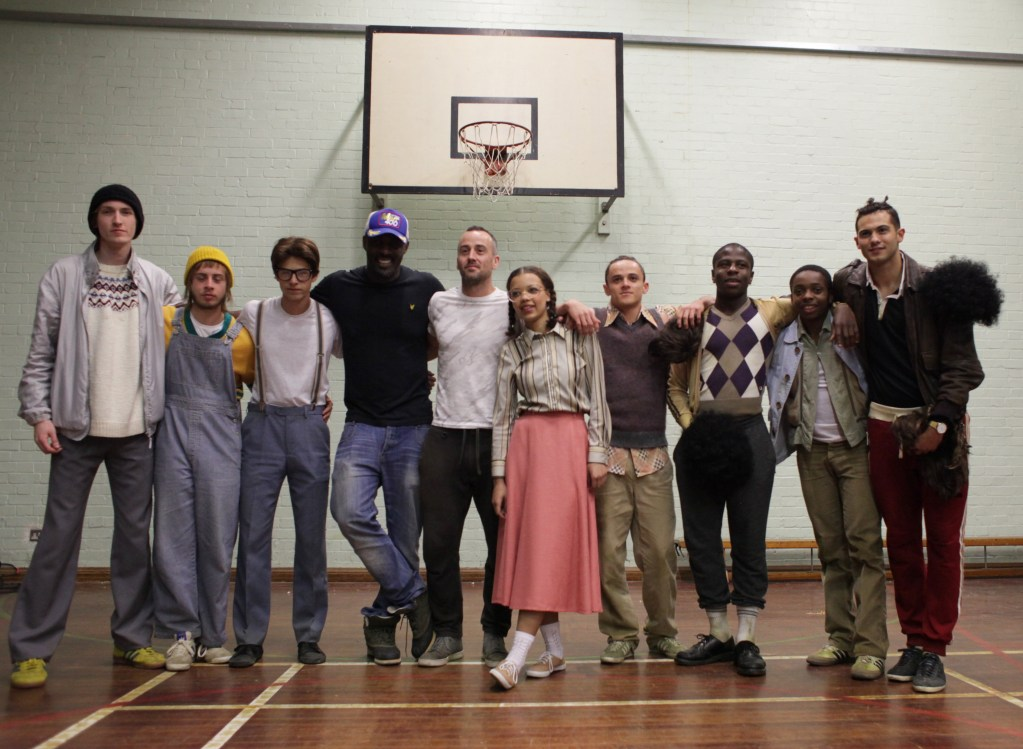 Idris Elba and the cast of his Short Film for Pepsi's Beats of the Beautiful Game (Photo courtesy of Ketchum Sports & Entertainment)