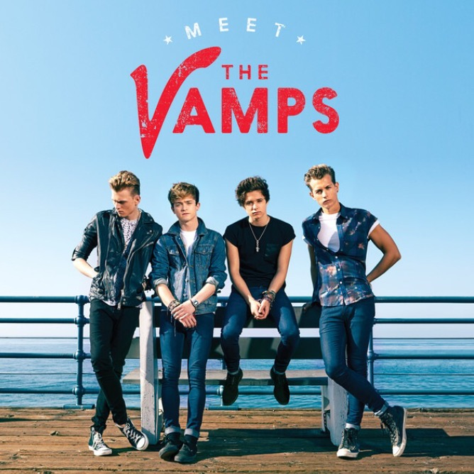 The Vamps on their Meet The Vamps Album Cover