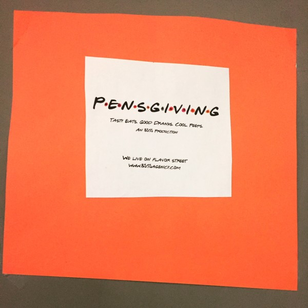 Pensgiving Banner (Photo by LoudPen)
