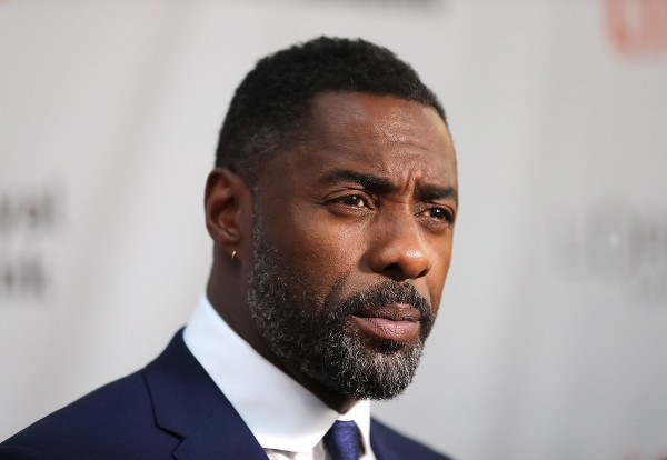 TORONTO, ON - SEPTEMBER 10:  Actor Idris Elba speaks to the media at the premiere of