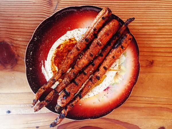 Carrots al ha esh at AVIV (Image by LoudPen)